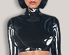 I│Plastic Crop Top