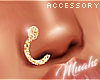 $ Nose Jewelry Gold L