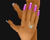 Dainty Nails Fuchia