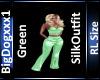 [BD]GreenSilkOutfit