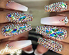 Diamond nails+rings