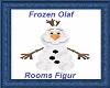 Frozen Olaf Rooms Figur
