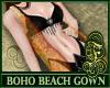 Boho Beach Gown Orange