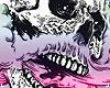 . vape skull cutout