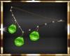 neon green kiss chain