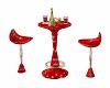 christmas table - chairs