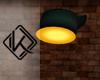 !A wall spotlight