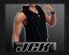 [JGK] SleevelessHoodyBLK