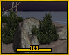 Tropicano rocks & plants