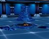 Blue Fireplace Light