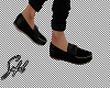 S! Black Loafers