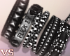 {VS}*Studded Bracelets*