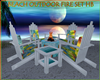 BEACH OUTDOOR FIRE SET H