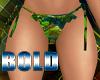 Bold Afro Bikini Bottom