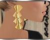 5.Chic: Earrings in Gold