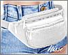n| F Waist Pack White