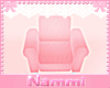 Kids scaled chair pink