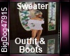 [BD]SweaterOutfit&Boots