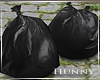 H. Trash Day Bags
