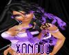 >JEN AMANDA BLACK PURPLE