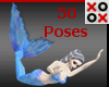 50 Mermaid Poses