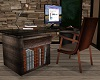 Wood & Leather Desk