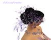 LXF purple weding hair