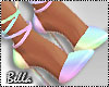 ^B^ Pastel Summer Pumps