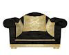 Black/Gold Chair