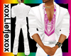 [L] White Pink Suit