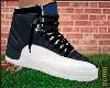 K| Black & Blue Jordans