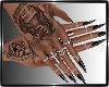 Queen Nails Black