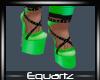 Halloween Green Heels