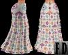 Aztec Boho Skirt