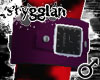 STGN Cuff Watch Purple