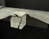 marble + glass table