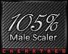 [💋] Scaler 105%