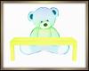 Teddy Bear Bench Yellow