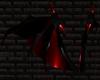 Black/Red PVC Wings M/F
