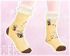 [T] Bee Ruffled socks