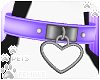 [Pets]HeartCollar|purple