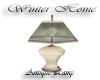 ! M.W.H. Antique lamp