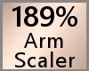 189% Arm Scaler F A