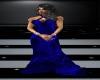 Dark Blue & Black Dress
