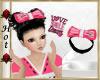 ~H~Love Hair Bow