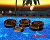 romantic pool seats
