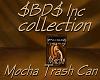 $BD$ Mocha Trash Can