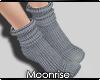 m| Grey socks