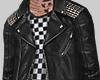 零 Studded Leather