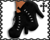 * Black Suede Boots